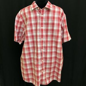 Michael Kors Men's Shirt Red XXL Checkered New